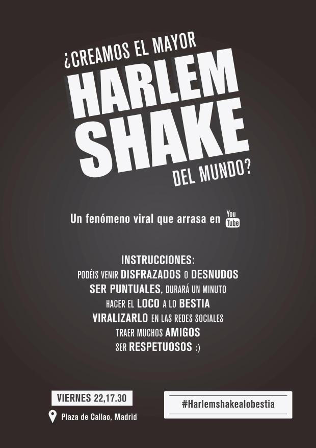 Harlem Shake en Madrid!