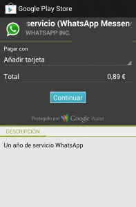 Play Store WhatsApp