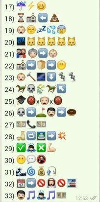 Juegos Con Emoticonos Whatsapp Refranes Qué Se Lleva En La Red